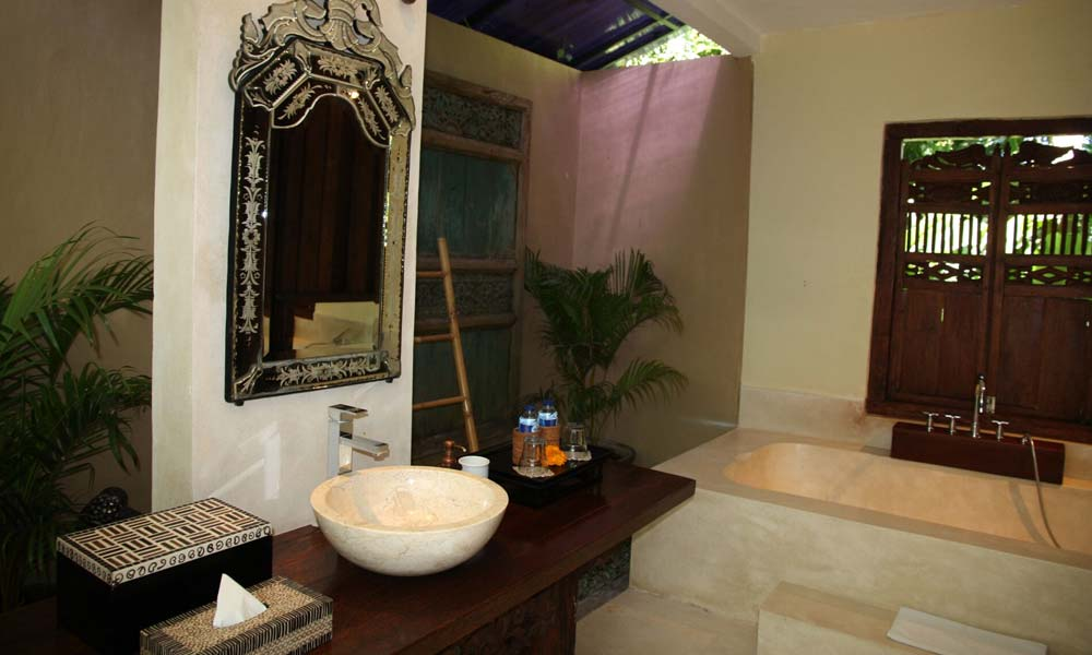 Bathroom interior at Villa Bodhi